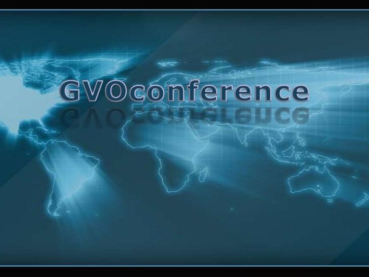 GVOconference<br />