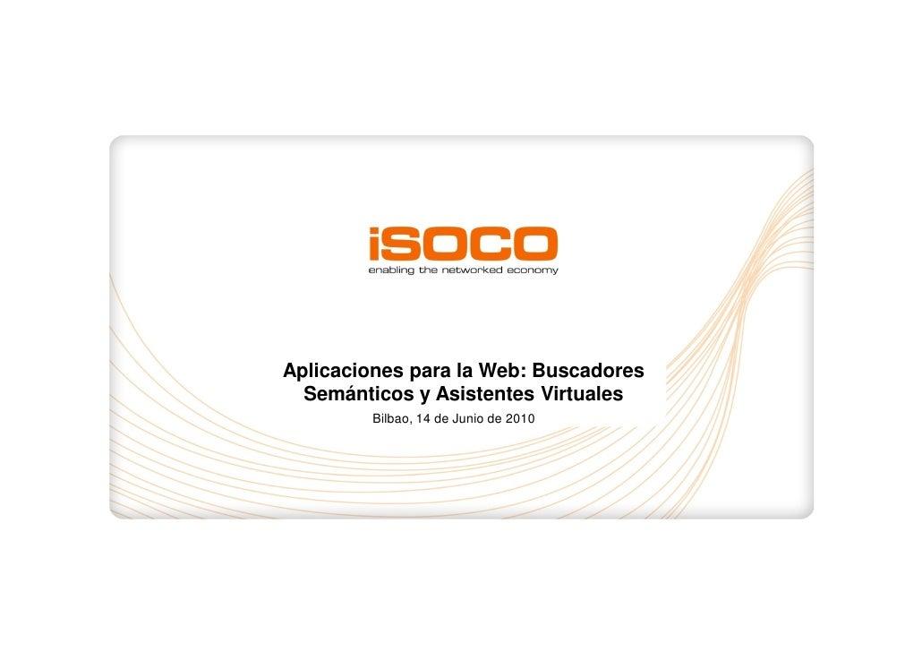Aplicaciones Web Buscadores y Asistentes virtuales
