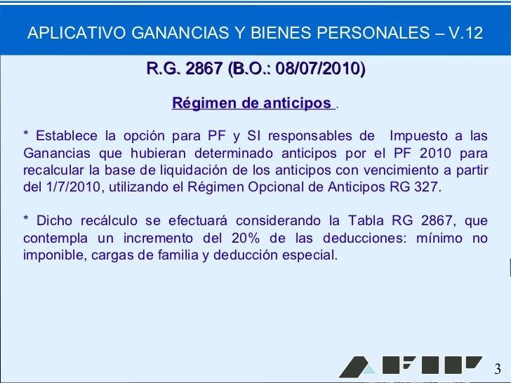 Aplicativo Ganancias Y Bienes Personales 2016 ...
