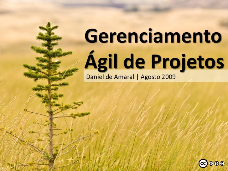 GerenciamentoÁgil de Projetos   ..Daniel de Amaral | Agosto 2009