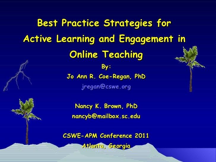Apm 2011 presentation with nancy