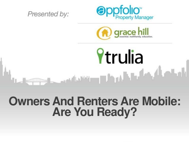 Owners And Renters Are Mobile: Are You Ready?