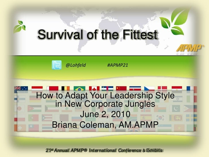How to Adapt Your Leadership Style to the Corporate Jungle