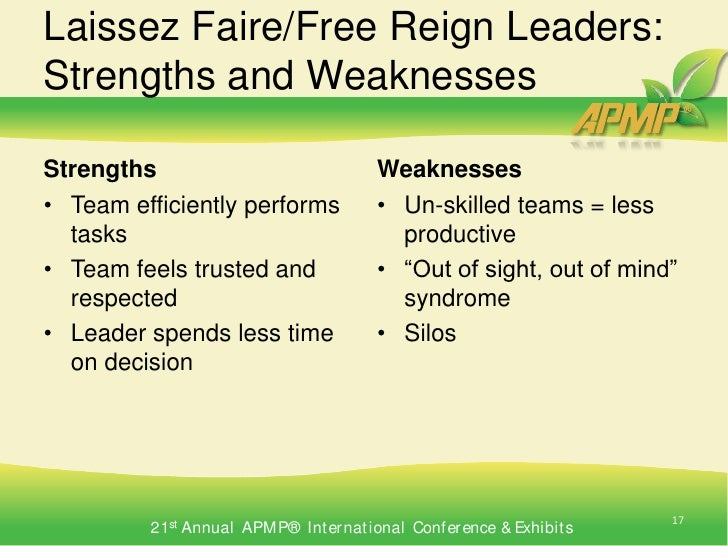 examples of laissez faire leadership style Team project laissez-faire leadership style laissez-faire leadership style examples of laissez-faire leadership in.
