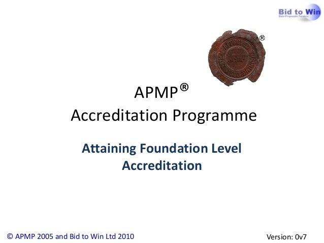 APMP Foundation Introduction