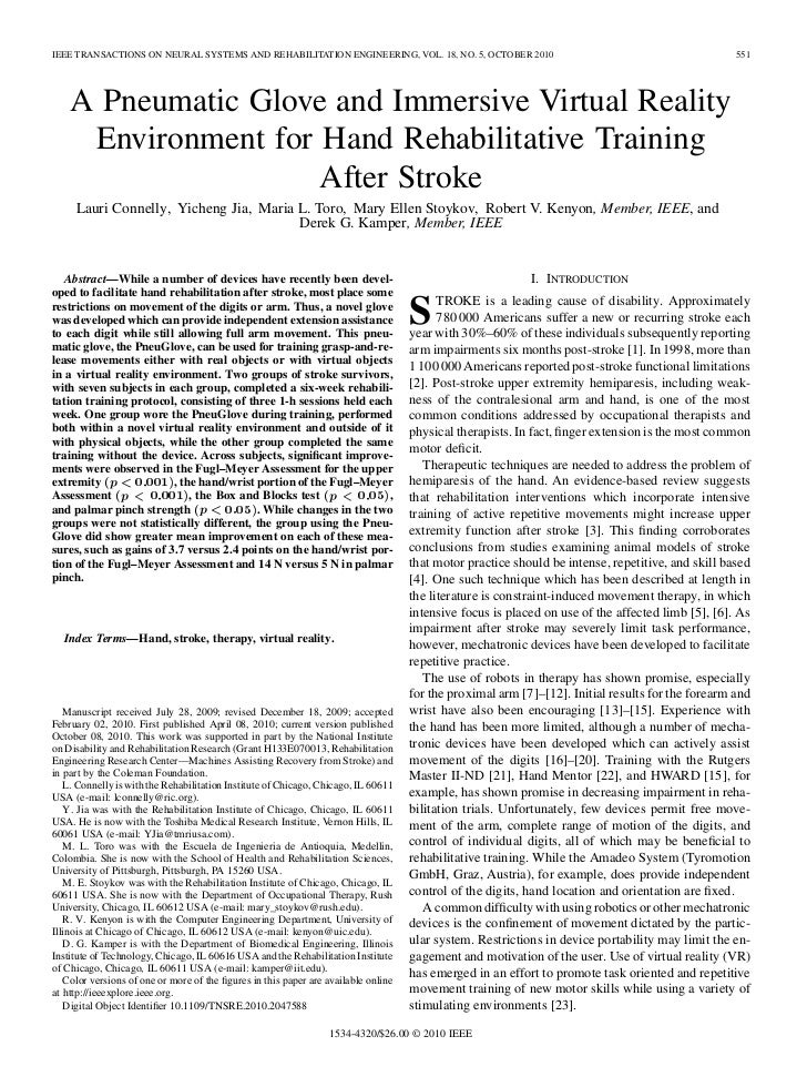 IEEE TRANSACTIONS ON NEURAL SYSTEMS AND REHABILITATION ENGINEERING, VOL. 18, NO. 5, OCTOBER 2010                          ...