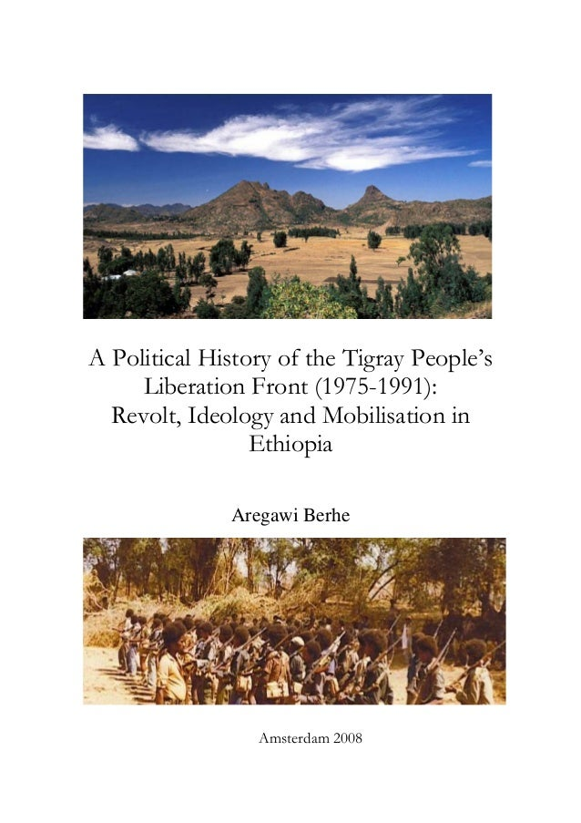 A political history of the tigray people's 1975 1991
