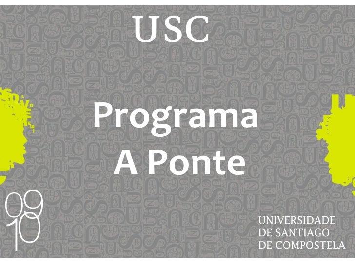 Programa  A Ponte