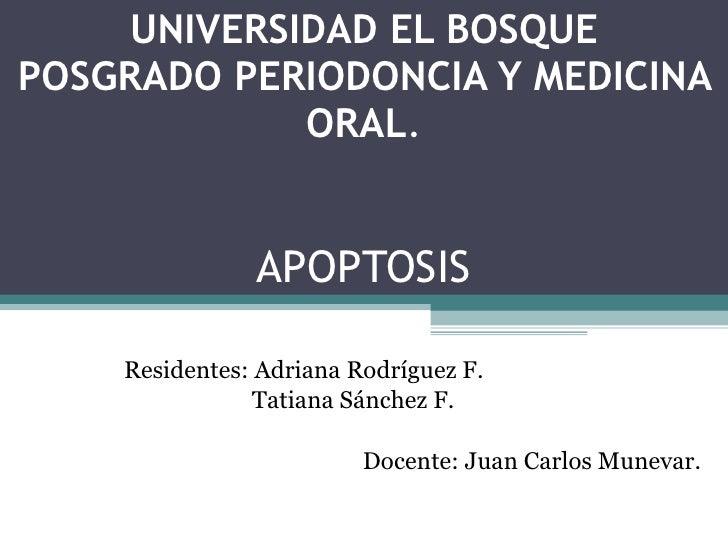 Apoptosis Periodoncia