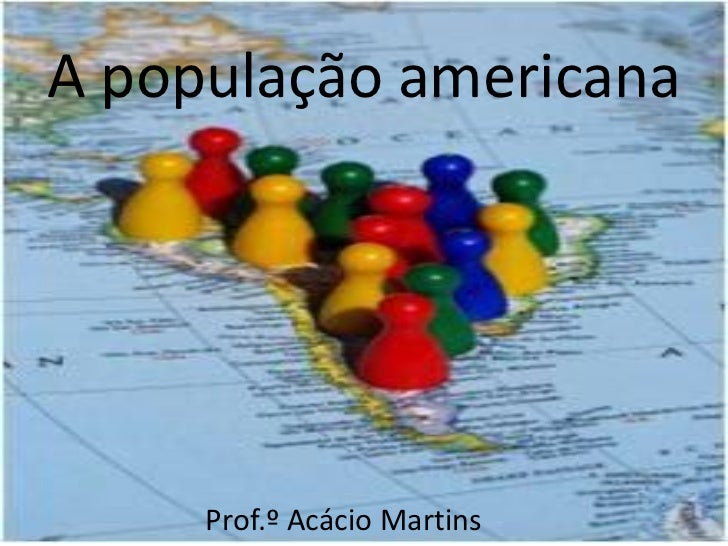 Cap. 8 - A população americana