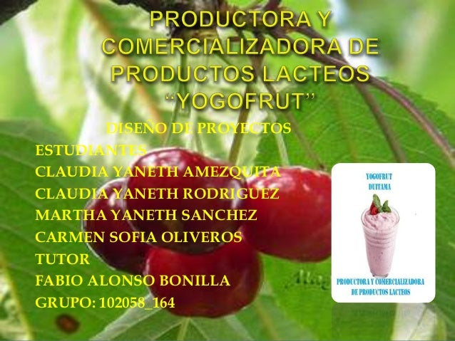 DISEÑO DE PROYECTOS ESTUDIANTES CLAUDIA YANETH AMEZQUITA CLAUDIA YANETH RODRIGUEZ MARTHA YANETH SANCHEZ CARMEN SOFIA OLIVE...