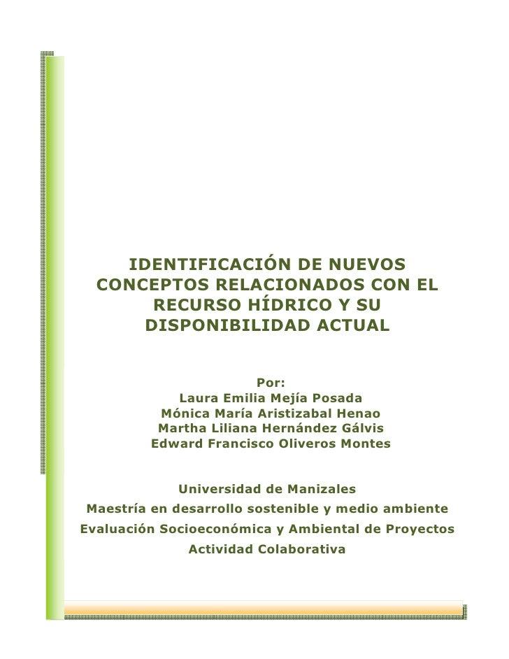 Aporte trabajo colaborativo evaluacion socioeconomica y ambiental