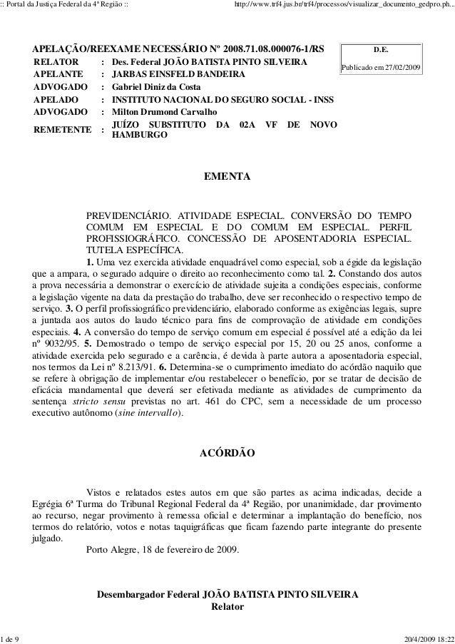 :: Portal da Justiça Federal da 4ª Região :: http://www.trf4.jus.br/trf4/processos/visualizar_documento_gedpro.ph...  D.E....