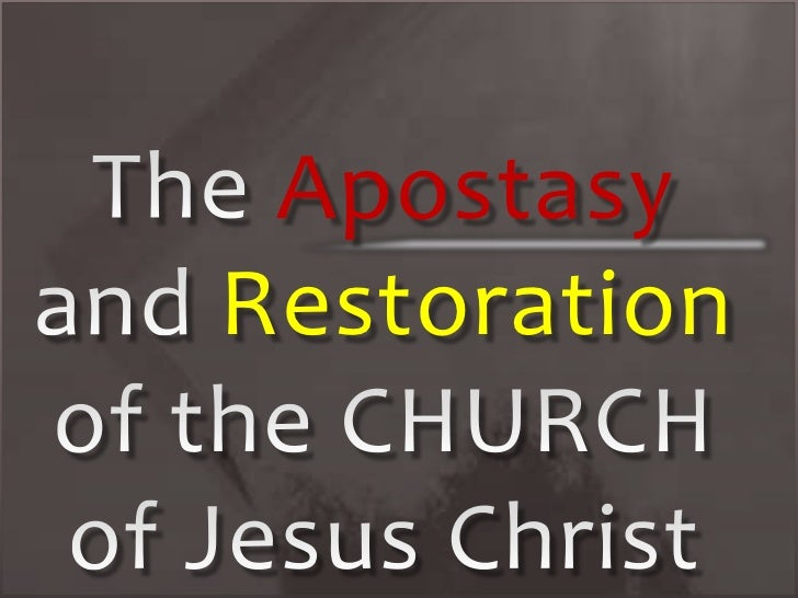 ApostasyRestoration