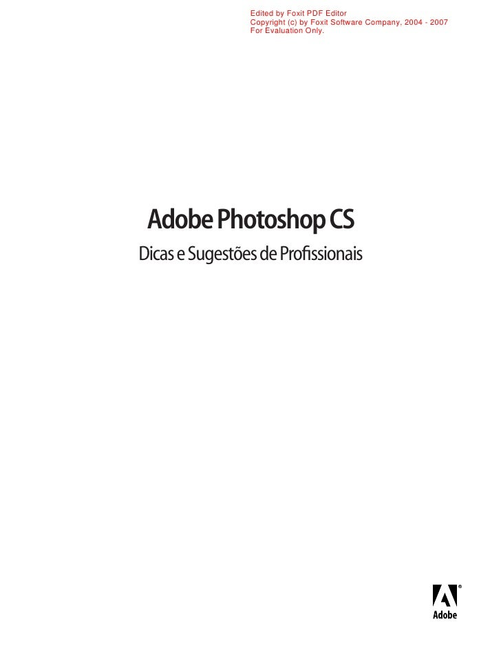 Apostila   dicas de profissionais sobre photoshop