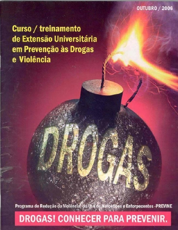 Apostila   drogas - conhecer para prevenir