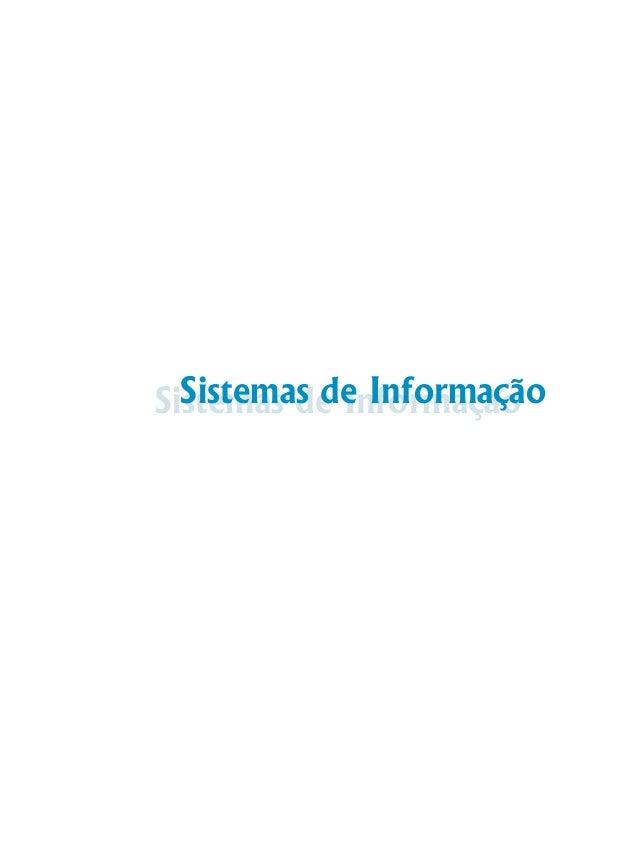 Sistemas de InformaçãoSistemas de Informação