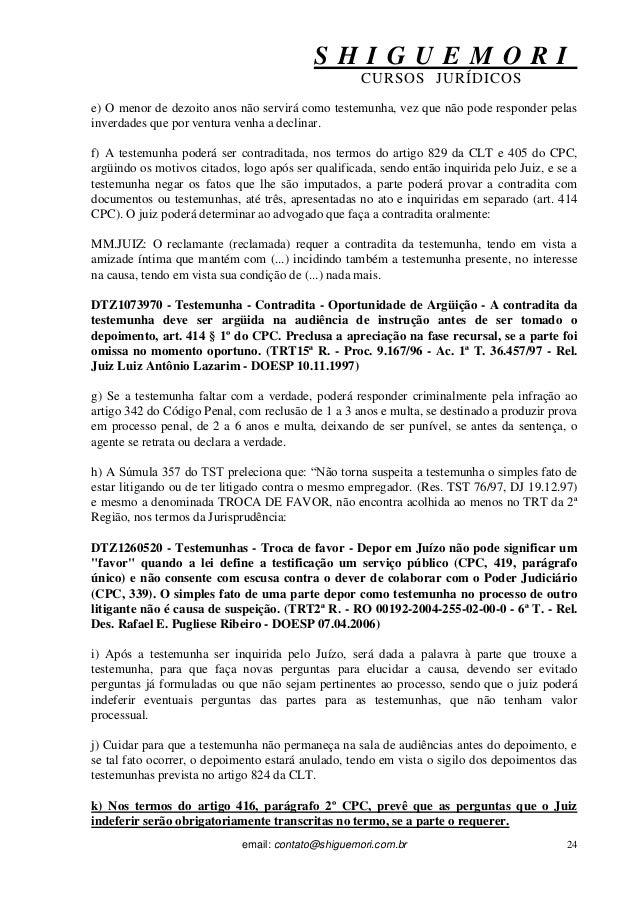 Artigo 405 cpc