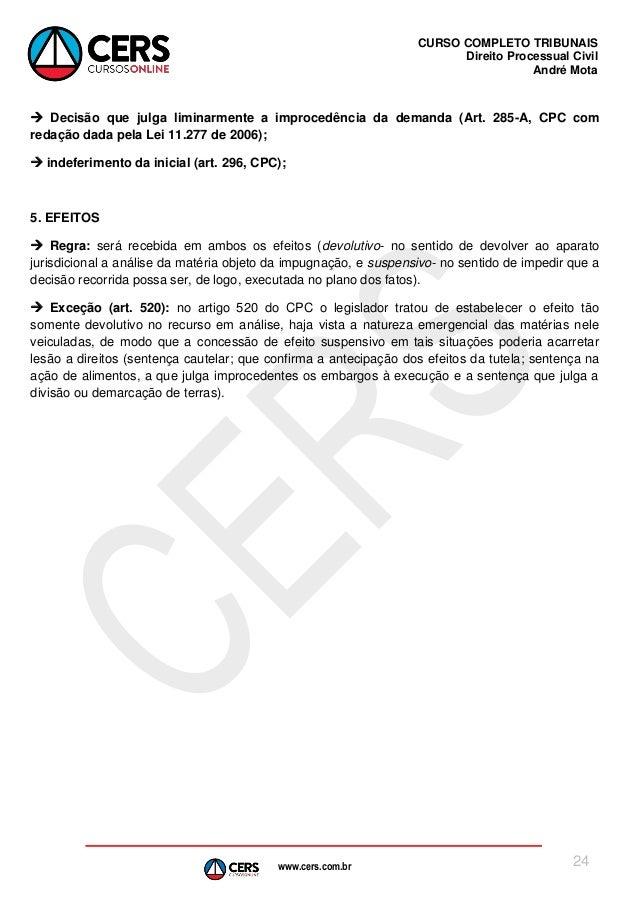 Artigo 277 cpc