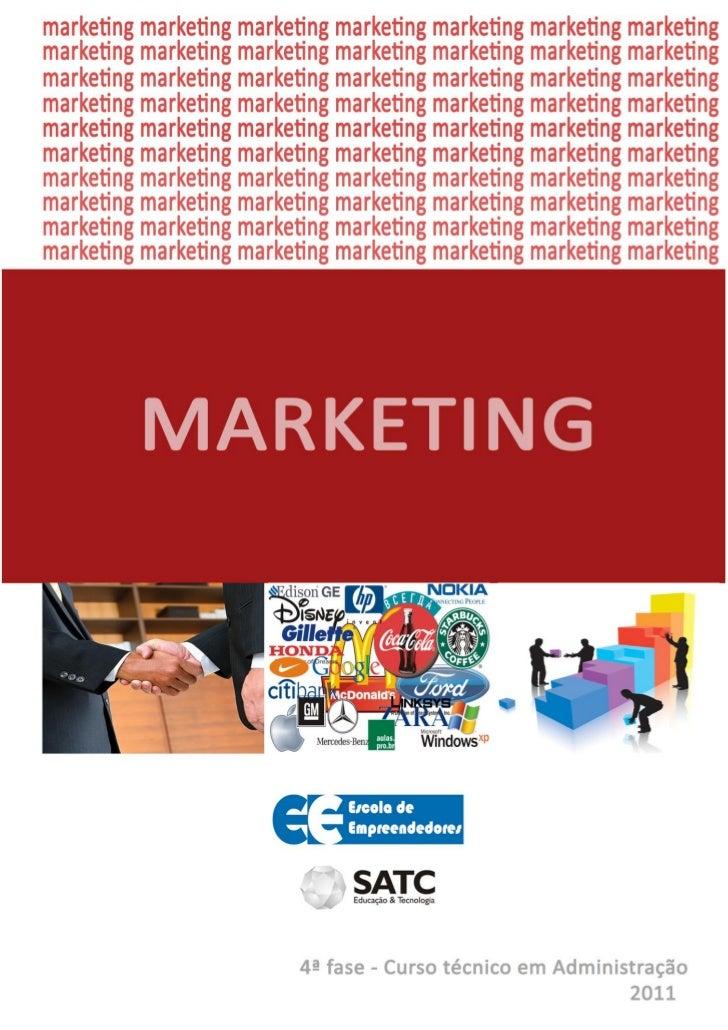 1. CONCEITO           Marketing é o conjunto de técnicas e atividades relacionadas aofluxo de bens e serviços do produtor ...
