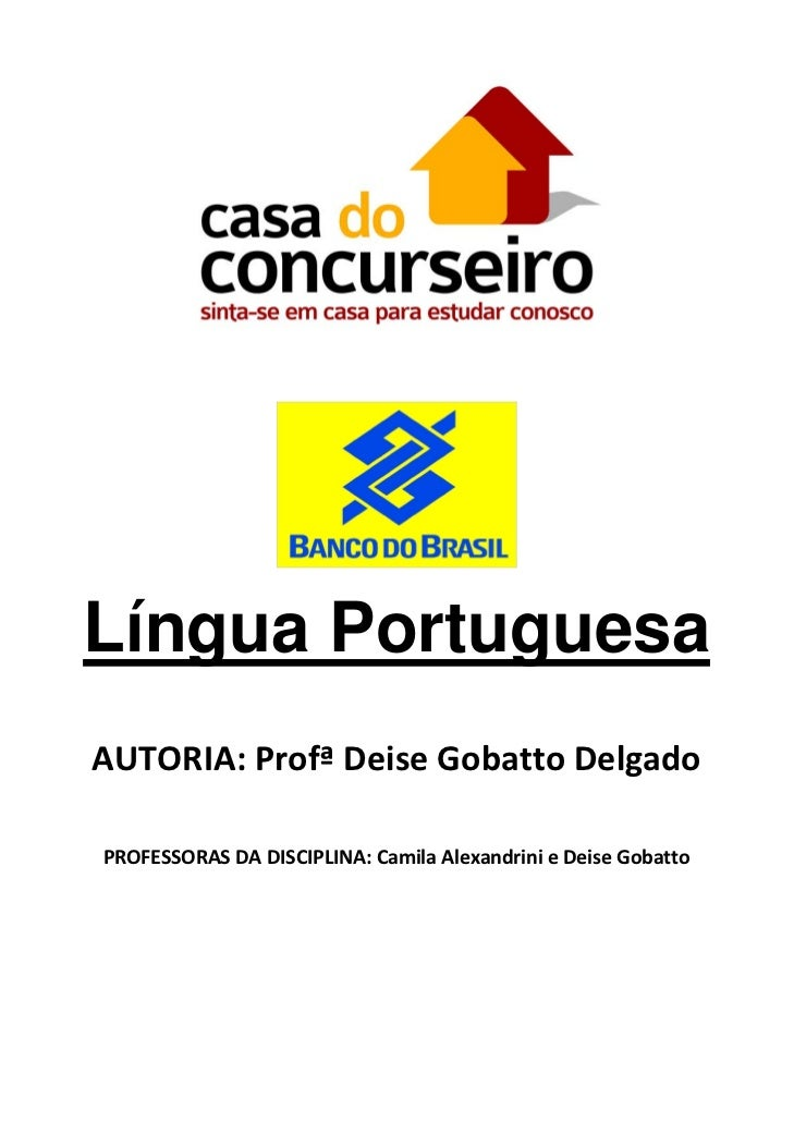 Língua Portuguesa                                      AUTORIA:Prof...