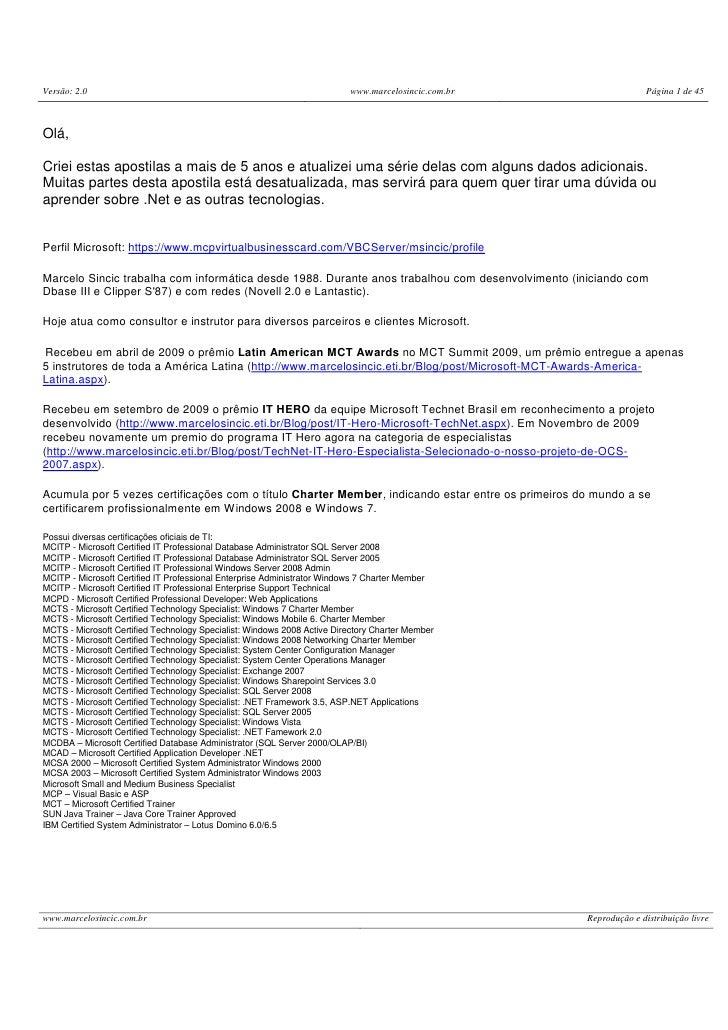 Apostilade vb.net