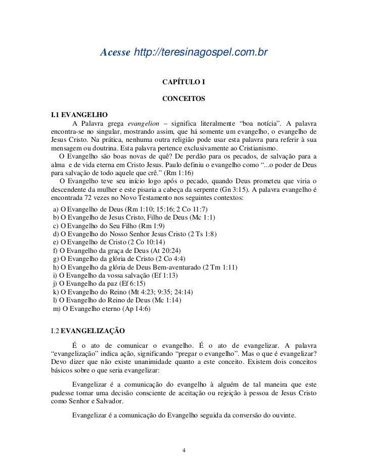 Acesse http://teresinagospel.com.br                                     CAPÍTULO I                                     CON...