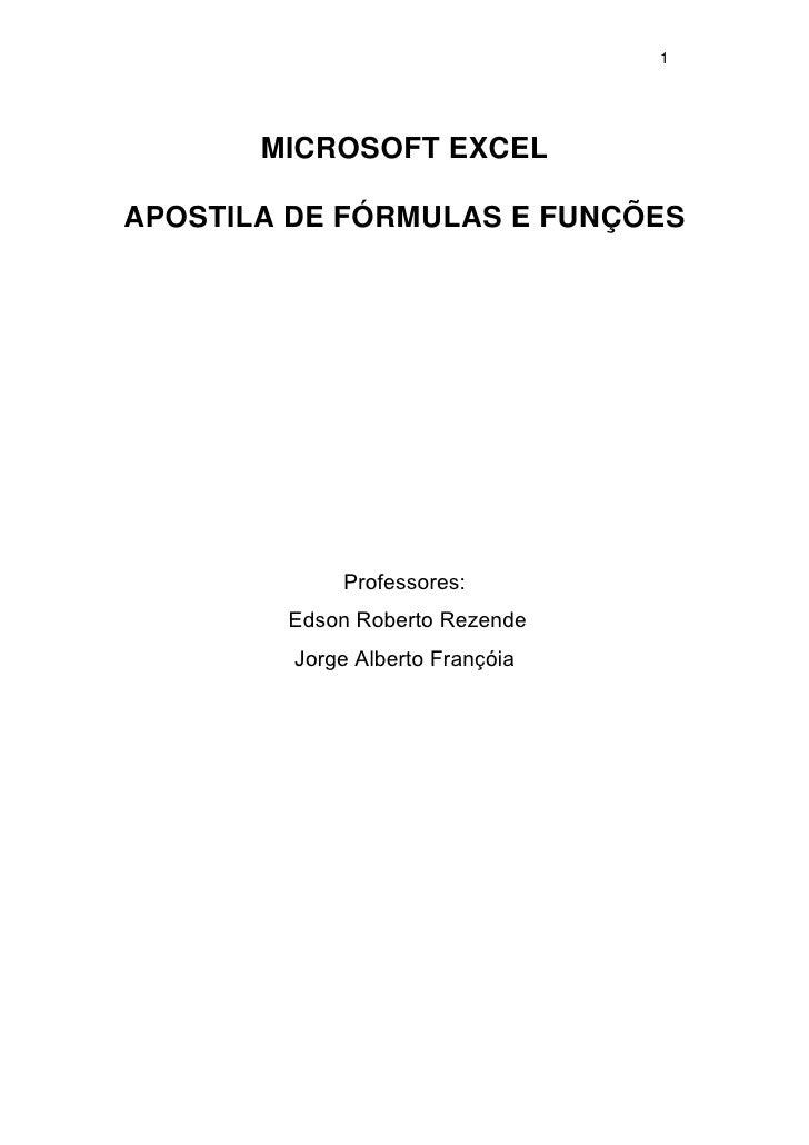 Apostilaexcel3funcao