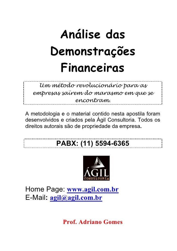 Apostila financeira