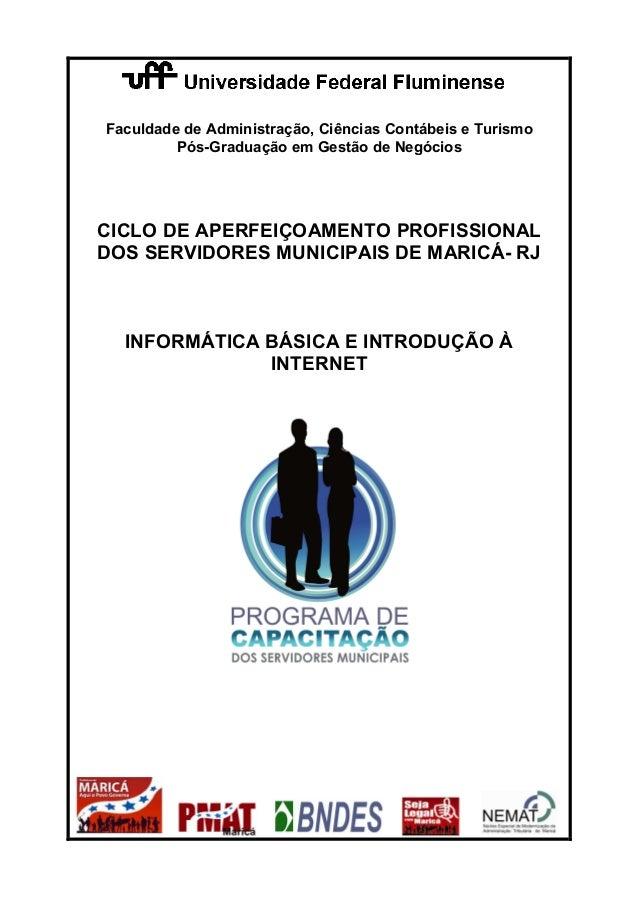 Faculdade de Administração, Ciências Contábeis e Turismo Pós-Graduação em Gestão de Negócios CICLO DE APERFEIÇOAMENTO PROF...