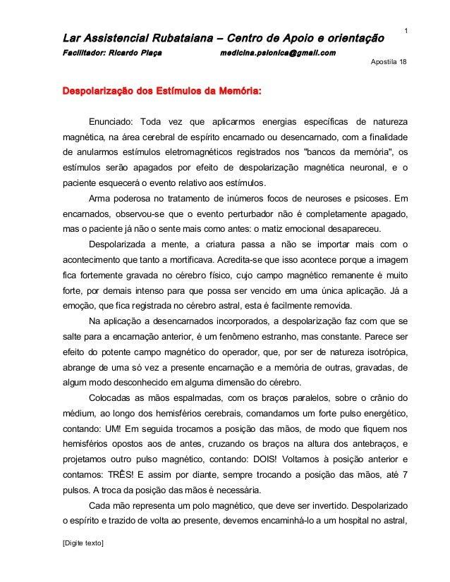 Apostila obsessão   lar rubataiana -2009 .doc - 18 doc