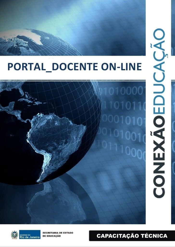 PORTAL_DOCENTE ON-LINE