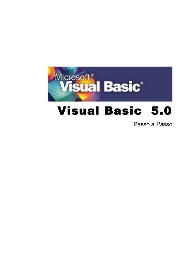 Visual Basic 5.0 Passo a Passo