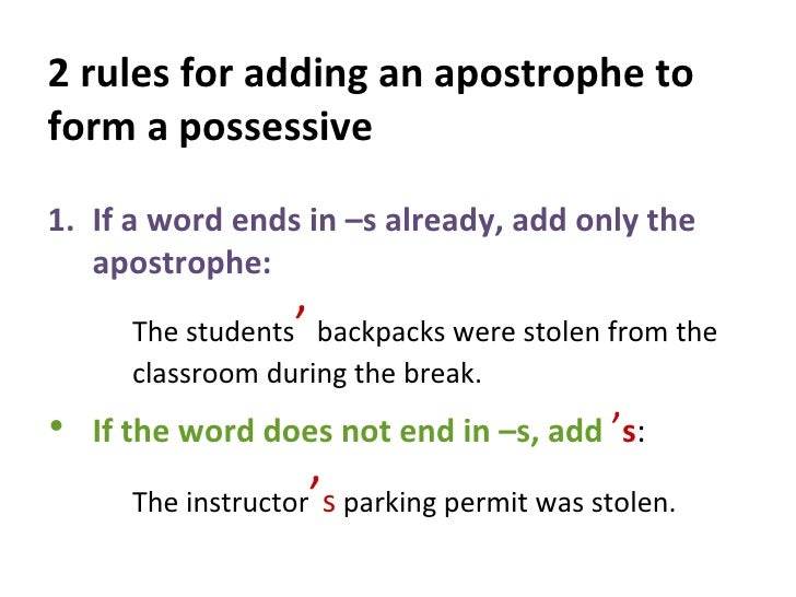 Letter Words Ending In Apostrophe T
