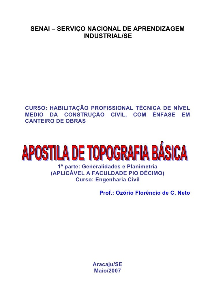 Apost topografia