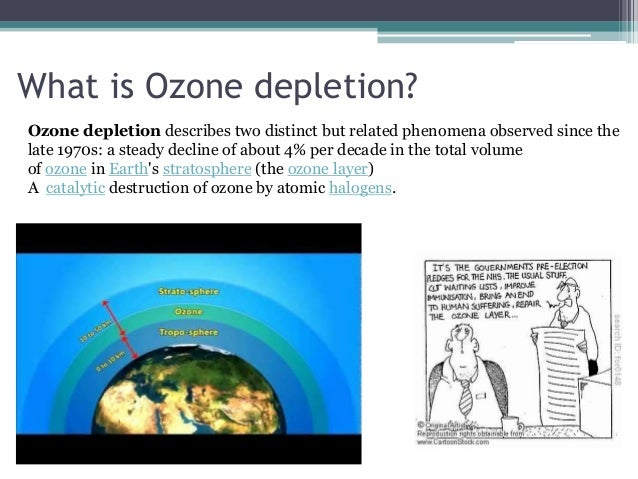 an overview of the ozone layer Cfcs affect the ozone layer by destroying ozone molecules cfcs, or chlorofluorocarbons, are normally stable molecules, but when uv rays strike them.