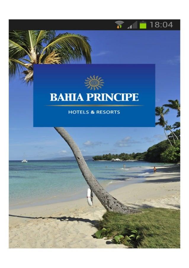 Lanzamiento de la nueva App Bahia Principe para Apple y Android