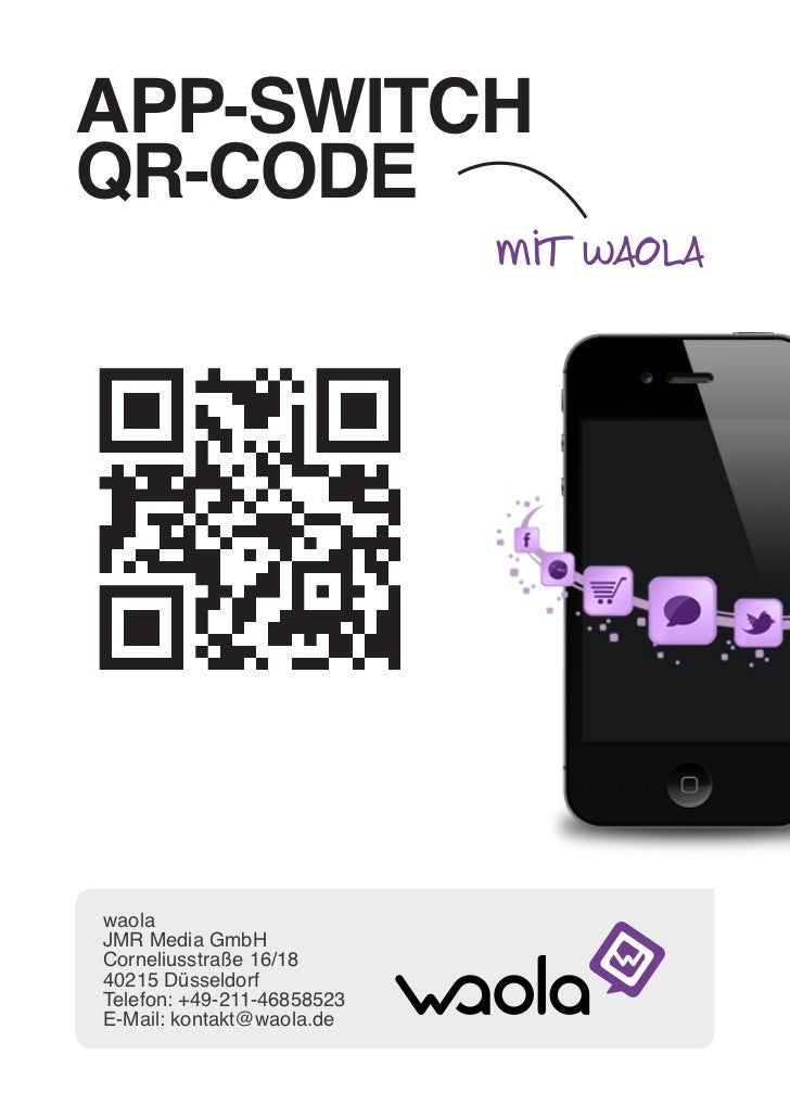 APP-Switch QR-Code - waola