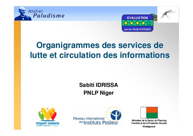 Organigrammes des services de lutte et circulation des informations