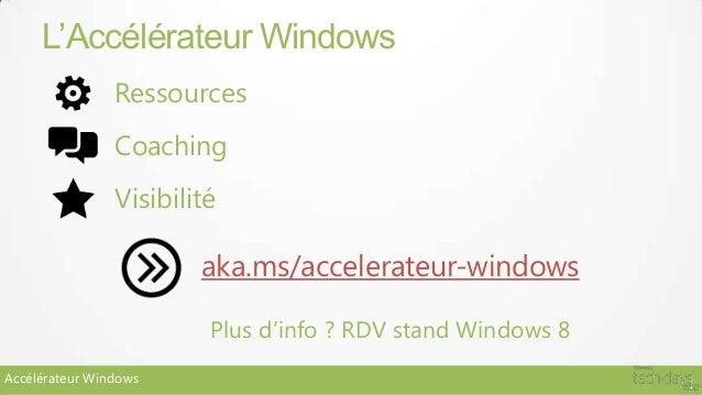 L'Accélérateur Windows                Ressources                Coaching                Visibilité                        ...