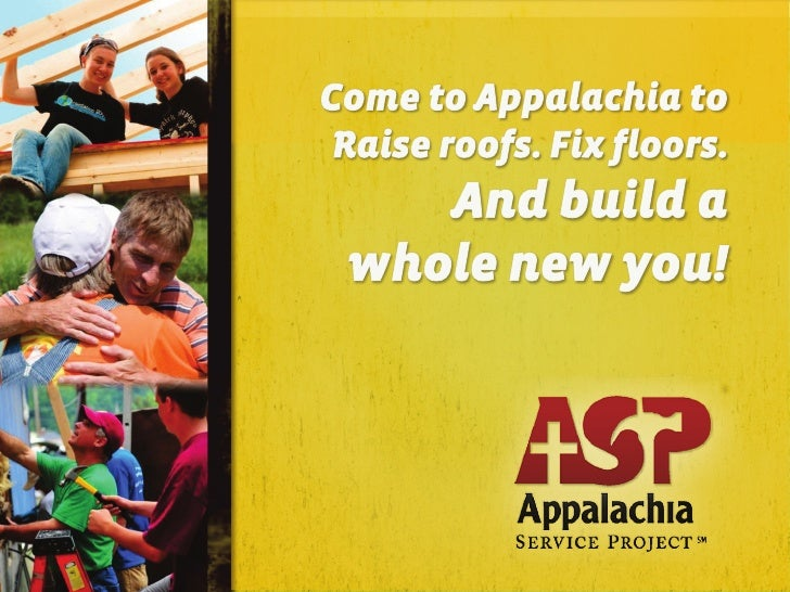 Appalachia Service Project Overview