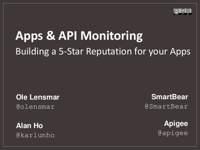 App & API Monitoring: Building a 5-Star Reputation for your Apps