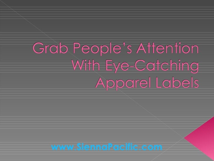 Apparel Labels To Put Your Products In the Spotlight