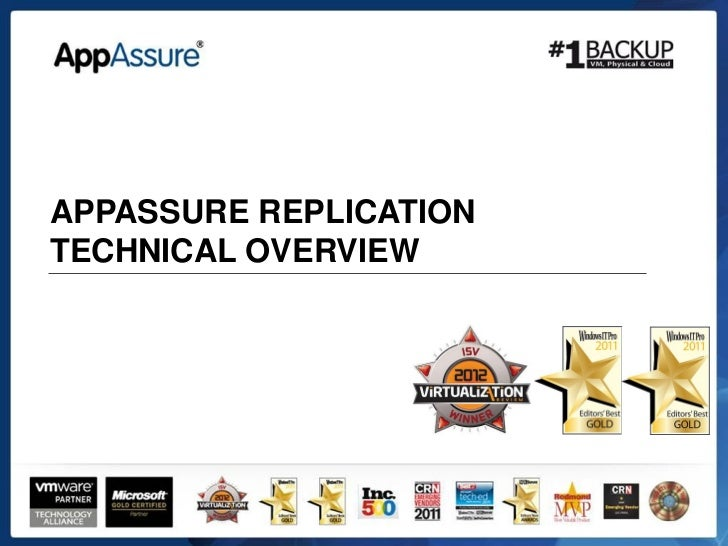 APPASSURE REPLICATIONTECHNICAL OVERVIEW