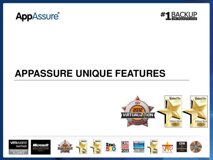 App assure unique_features
