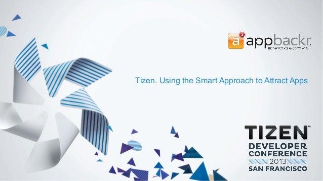 Appbackr xchange   tizen developer conference