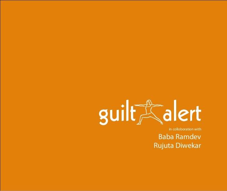 Guilt Alert - An Android App