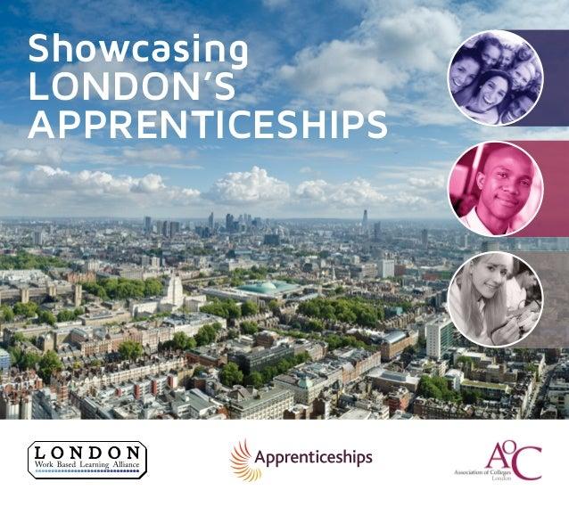 Showcasing London's Apprenticeships E-brochure