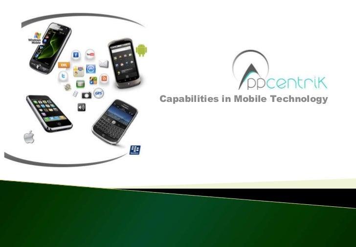 Appcentrik smart app capability ver2
