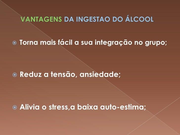 Sobre problemas de alcoolismo